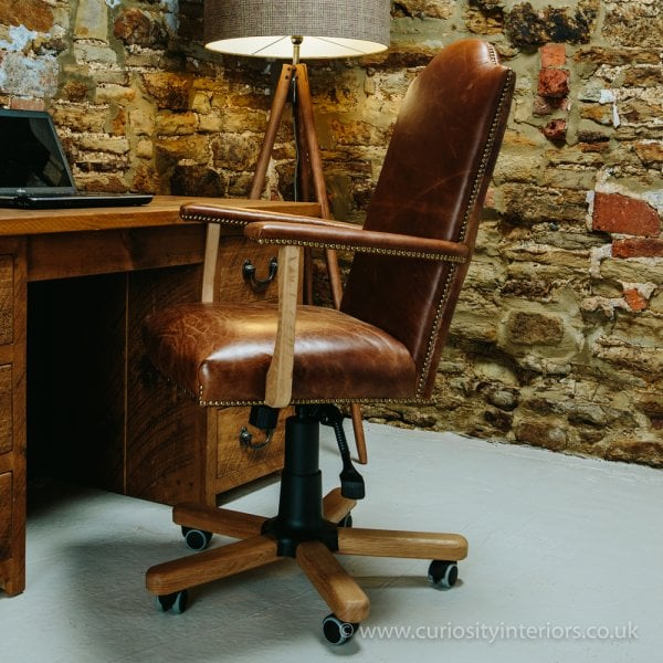 Leather Office Chair Leather Executive Chair Curiosity