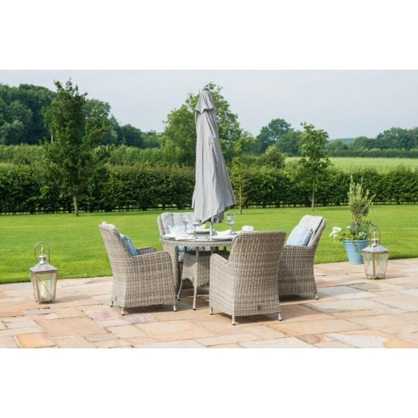 Admirable Amalfi 4 Seat Outdoor Dining Set Ibusinesslaw Wood Chair Design Ideas Ibusinesslaworg