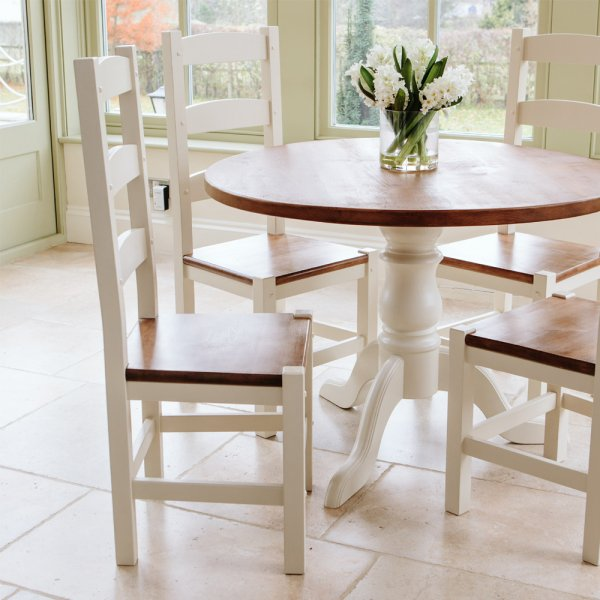 Amish Dining Chair | Rustic Painted Chairs from Curiosity ...