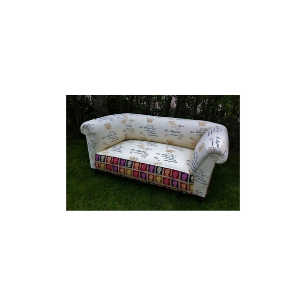 Edwardian Drop Arm Chesterfield Sofa L Antique 2 Chic Furniture