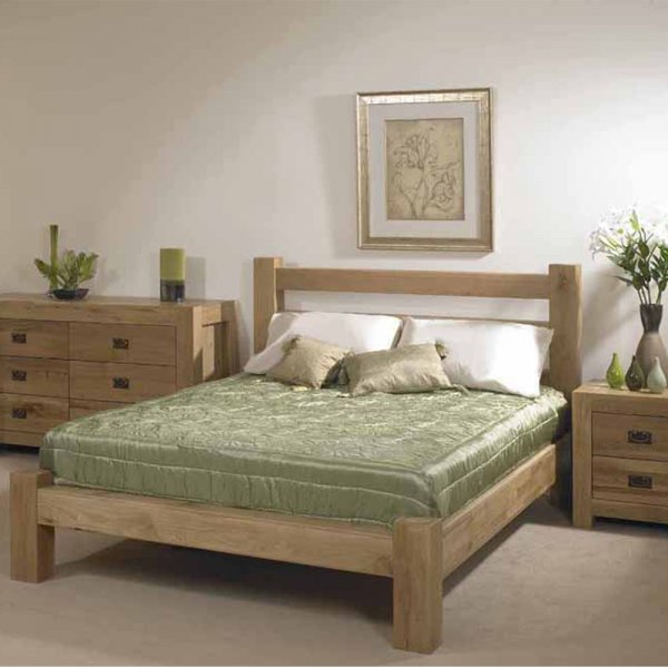 atlantic oak bedside table on sale rustic oak chunky bedside table. Black Bedroom Furniture Sets. Home Design Ideas