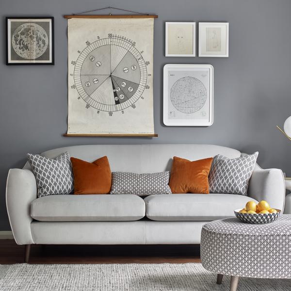 Contemporary fabric sofa range at curiosity interiors uk made sofas for Living room furniture ranges