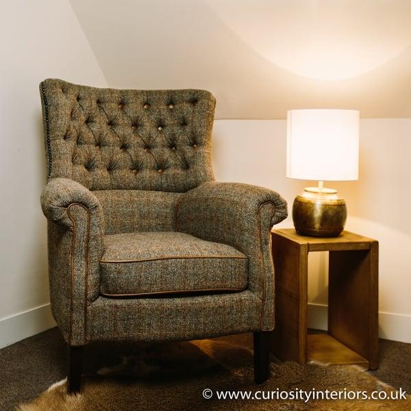 Living Room Furniture Ranges: Harris Tweed Armchair