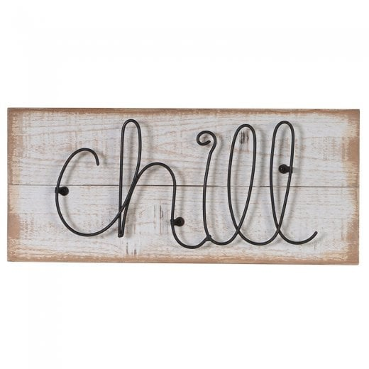 'Chill' Wooden Sign