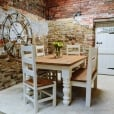 Chunky Hardwick Dining Table & Chairs Package