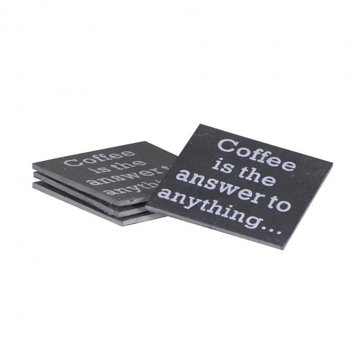 Coffee Is The Answer To Everything Coasters