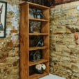 Cube Plank Bookcase