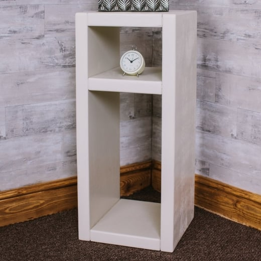 Curiosity Interiors Cube Plank Display with Shelf