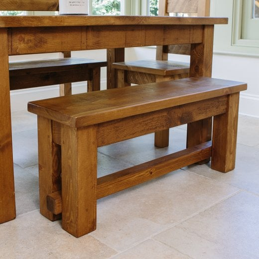 Curiosity Interiors Haddon Plank Bench