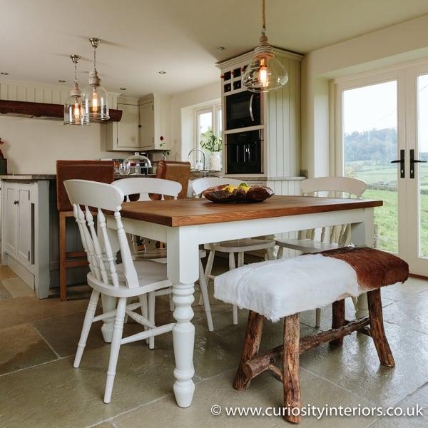 Plank Wood Dining Tables Farmhouse Dining Set Curiosity Interiors