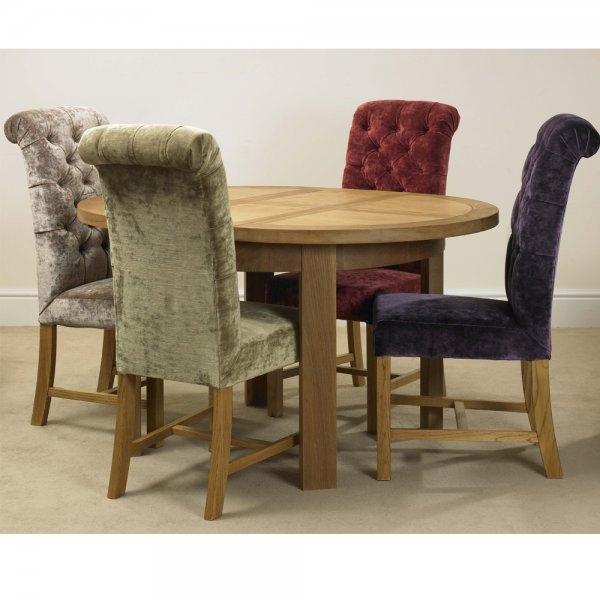 Deluxe Button Back Dining Chair