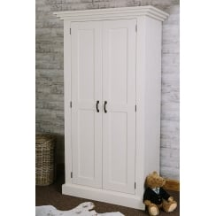Devonshire Plank Wardrobe with Storage