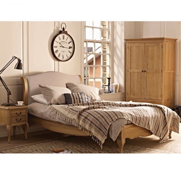 Solid Oak Bedroom Furniture Set Sale Ex Display Discounted