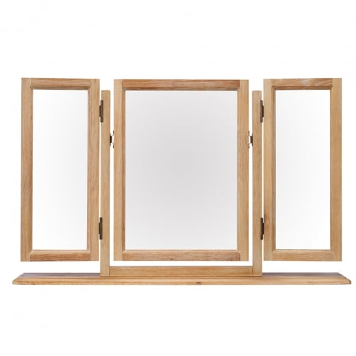 Elegance Oak Gallery Mirror