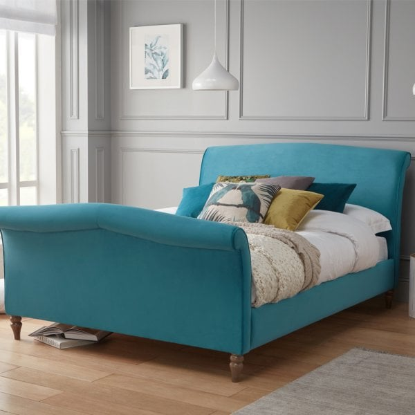 official photos c2ca9 efbd0 Ex Display Eden Upholstered Bed King Size