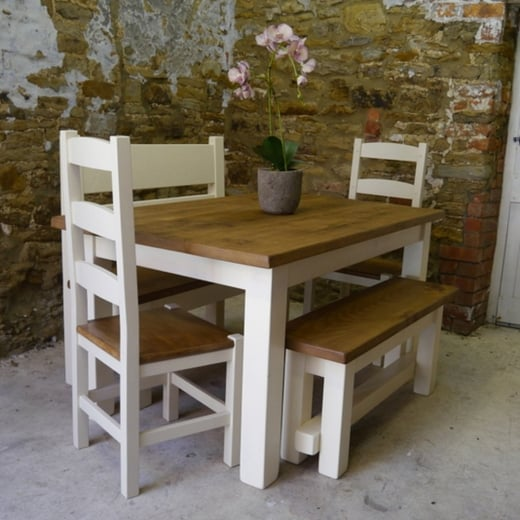 Haddon Plank Painted Dining Package
