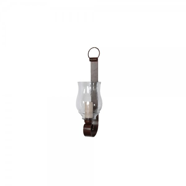 How High Do I Hang Wall Sconces : Glass Wall Sconce Metal Candle Wall Sconce Lantern