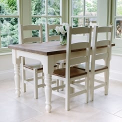 Hardwick Arc Rustic Dining Package