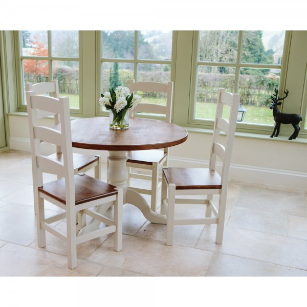 Home dining furniture hardwick round dining table amp amish