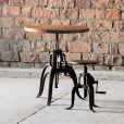 Hyatt Adjustable Jack Bar Stool