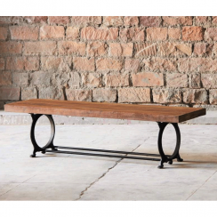 Hyatt Canning Industrial Dining Bench