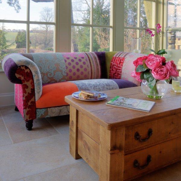 Ibis Sofa Patchwork Fabric Sofa