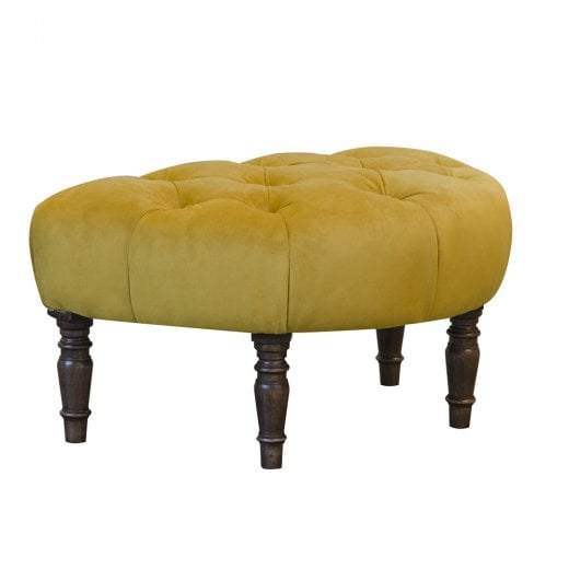 Isabell Plush Footstool
