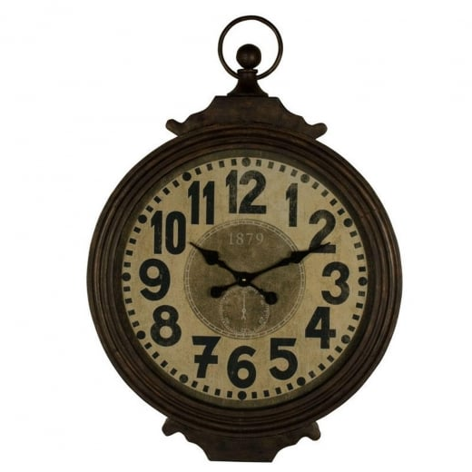 Large Retro Wall Clock Hanging Wall Clock