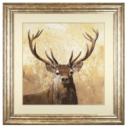 Large Stag Artwork Stag Artwork Artwork