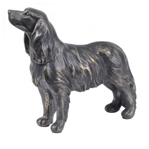 Libra Bronze Spaniel Sculpture