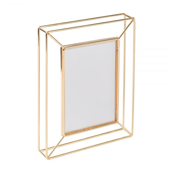 The Libra Company Eltham 5x7 Gold Photo Frame Curiosity Interiors