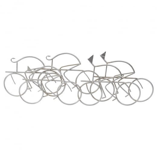 Libra The Abstract Cyclist Wall Art