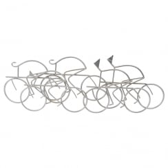 The Abstract Cyclist Wall Art