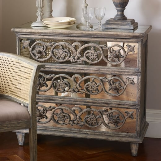 Libra Warwick Three Drawer Chest