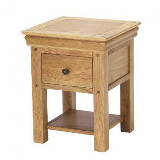 Rustic oak lamp table rustic oak home furniture louis oak lamp table aloadofball Images