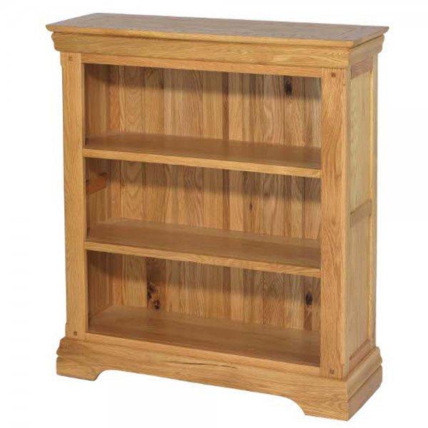 Rustic Oak Small Bookcase | Rustic Oak Home Furniture