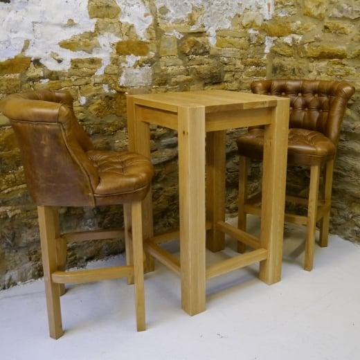 Oak Bar Table From Curiosity Interiors Dining Table