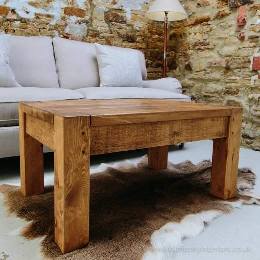 Lumber Plank Coffee Table