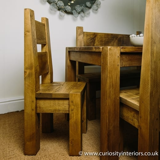 Lumber Plank Dining Chair