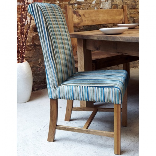 Striped Dining Room Chairs: Chunky Marco Deluxe Stripe Dining Chair