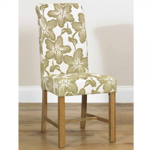 low priced 72d1a 39688 Marco Floral Rollback Dining Chair (Available in 3 fabric colours)