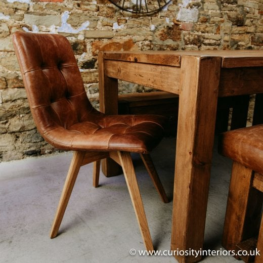 Nero Leather Dining Chair