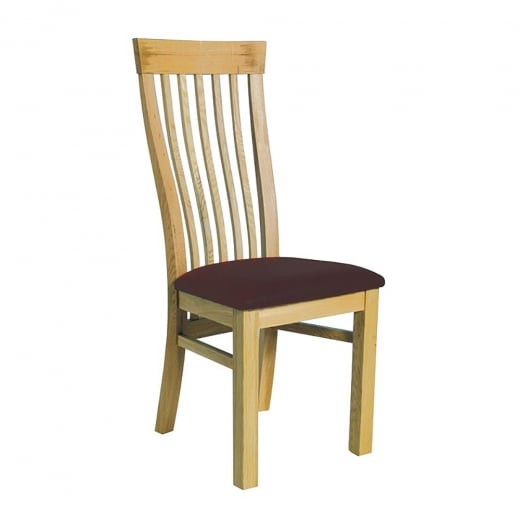Oak Iowa Dining Chair - Discontinued