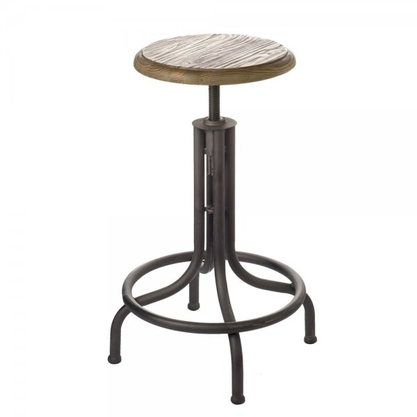 Parlane Adjustable Industrial Barstool