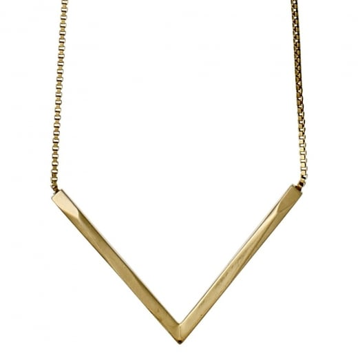 Pilgrim Edges Gold Plated Necklace