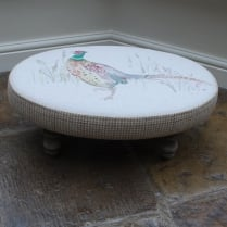 Mr Pheasant Footstool