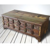 Aimee Upcycled Trunk Coffee Table