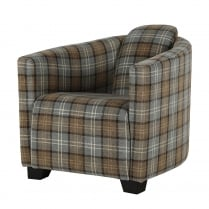 Ashbourne Tartan Tub Chair