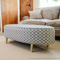 Battersea Oval Footstool
