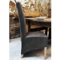 Brompton Faux Suede Dining Chair